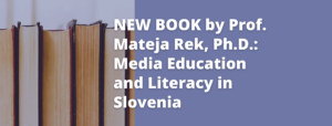 New book by Prof. Mateja Rek, Ph.D.