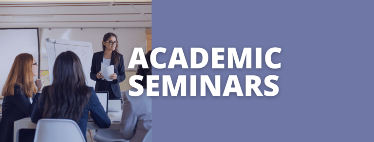 Academic seminars