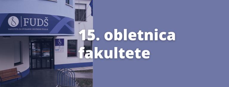 15. obletnica fakultete