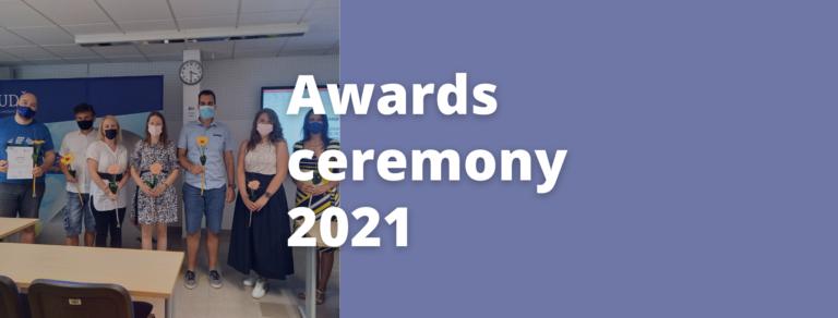 SASS awards ceremony 2021