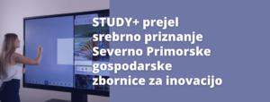 study + prejel srebrno priznanje SPG
